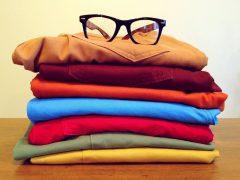 Oferta odzieży sprzedawanej w sieci